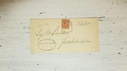 9447. Plico Coperta Da Nicastro A Feroleto Antico Catanzaro 1901 - 1900-44 Victor Emmanuel III