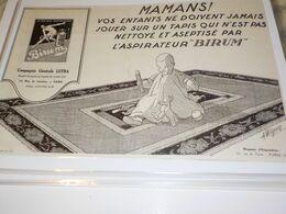 ANCIENNE PUBLICITE ASPIRATEUR BIRUM  1925 - Altri