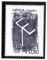 Latvia 2014 . Teleshow TE. 1v: 0.50 .    Michel # 906 - Letland