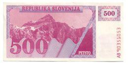 Slovenia 500 Tolarjev 1990 AUNC *V2* - Slowenien