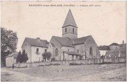 21. SAVIGNY-SOUS-MALAIN. L'Eglise - Otros Municipios