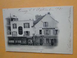 """BRUNOY  (Essonne) -- Place De La Jeunesse Côté Rue Du Pont - ANIMEE - Commerces - Cpa """"précurseur"""" - Brunoy"""