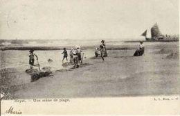 HEIST - Scène De Plage - Carte Précurseur - Oblitération De 1905 - Heist