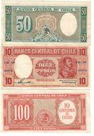 Chile Lot 3 Banknotes *V2* - Cile