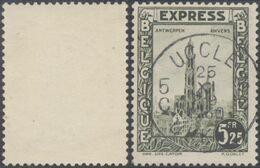 """Expres - N°292G Obl Simple Cercle """"Uccle / Ukkel 5"""" - Belgien"""