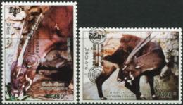 LAOS 2018 Pseudoryx Antelopes Overprint Animals Fauna MNH - Sonstige