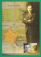 Australien 2015 ,  Raoul Wallenberg - Maximum Card - First Day Of Issue  5. OCT 2015 - Cartes-Maximum (CM)