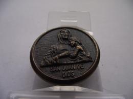 Spain Espana Portugal - Religion - San Juan De Dios - Token - Medal - Bronze - Ø 35 Mm - España