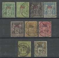 Chine (1894) N 1-2-4-6-8-9-12-14-15 - Chine (1894-1922)