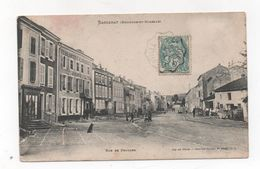 Cpa 54 BACCARAT La Rue De Frouard - Baccarat