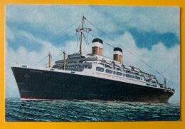 12667 - S/S Independance American Export Lines - Paquebote
