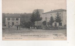 CPA ROZIERES SUR MOUZON PLACE DE LA GARE - France