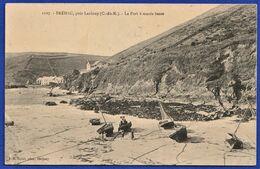 CPA 22 BREHEC, Près LANLOUP (C.-du-N.) - Le Port à Marée Basse. - France