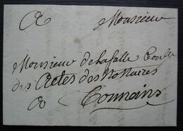 1724 Lettre De Tonneins Pour Tonneins (Lot-et-Garonne) - Marcofilie (Brieven)