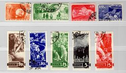Russie YT N° 536/540 Et N° 551/554 Oblitérés. B/TB. A Saisir! - Used Stamps