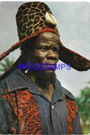 138128 AFRICA CONGO COSTUMES NATIVE CHEF PUBLICITY TABLETAS DE SIQUALINE SQUIBB CIRCULATED TO ARGENTINA POSTAL POSTCARD - Advertising