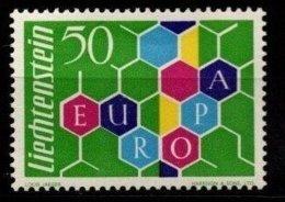 CEPT Europa 1960 Liechtenstein Yvertn° 355 (*) MLH Compté Comme Oblitéré Cote 55 € - 1960