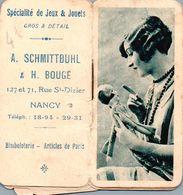 Mini Calendrier 1930 Femme Mode Poupée - Kalender