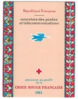 FRANCE - CARNET CROIX-ROUGE De 1961 N° 2010 Neuf ** (Cote 47€) - Red Cross