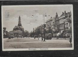 AK 0528  Groningen - Vischmarkt Um 1934 - Groningen