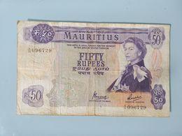 MAURITIUS-50 RUPEES 1967 - Mauritius