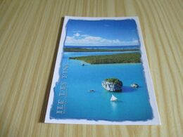 Ile Des Pins (Nouvelle-Calédonie).Pirogue En Baie D'Upi.. - Nuova Caledonia