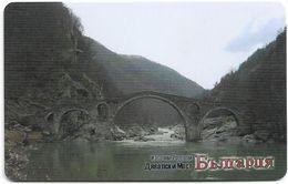 Bulgaria - Mobika (chip) - The Devil's Bridge, Exp. 06.2008, 25Units, 50.000ex, Used - Bulgarien