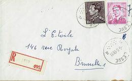 Doc. De LESVE - A A - Du 06/06/68  En Rec.   ( E ) - Marcophilie