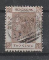 Hong Kong, Used, 1863, Michel 8 - Hong Kong (...-1997)