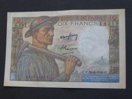 10 Dix Francs  MINEUR  30=06=1949   **** EN ACHAT IMMEDIAT ****   BILLET  SUP ++ - 1871-1952 Antichi Franchi Circolanti Nel XX Secolo