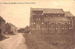 Villers-le-Bouillet (Halbosart) - Place De L'Eglise (Edit. Cuivers-Lemye) - Villers-le-Bouillet