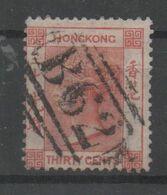 Hong Kong, Used, 1863, Michel 14 - Hong Kong (...-1997)