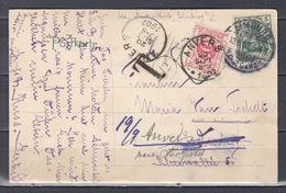 Postkaart Van Limburg (Duitsland) Naar Anvers - Portomarken