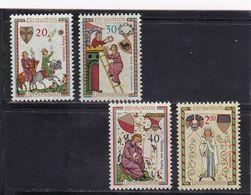 Liechtenstein, Nr. 420/23** (T 17024) - Liechtenstein