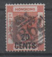 Hong Kong, Used, 1885, Michel 39 - Hong Kong (...-1997)
