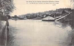75 - PARIS - INONDATIONS De PARIS ( Janvier 1910 ) Au Marché Aux Pommes ... - CPA - Seine - De Overstroming Van 1910