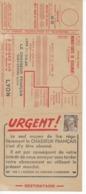 """Lettre Envoi Mandat-carte Versement """"Le Chasseur Français"""" Saint-Etienne (Loire) Avec Préoblitéré Marianne Gandon 2,5 F - 1893-1947"""