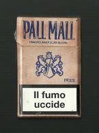 Tabacco Pacchetto Di Sigarette Italia - Pall Mall Free Da 20 Pezzi - Tobacco-Tabac-Tabak-Tabaco - Etuis à Cigarettes Vides