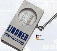 STAMPSCOP Wasserzeichen-Sucher New 90€ Prüfen Von WZ Auf Briefmarken Check Of Stamps Paper Wmkd. LINDNER Offer 9111 - Altro Materiale
