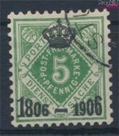 Württemberg D109 Gefälligkeitsentwertung Gestempelt 1906 Ziffern In Raute (9463220 - Wuerttemberg