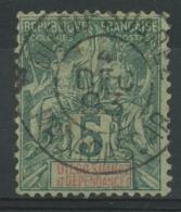 Diego-Suarez (1892) N 28 (o) - Usati