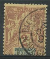 Diégo-Suarez (1892) N 26 (o) - Diego-suarez (1890-1898)
