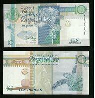Seychelles - 10 Rupees - Unc  Pick. 36 - Seychellen