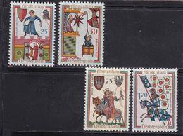 Liechtenstein, Nr. 433/36** (T 17037) - Liechtenstein