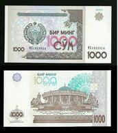 Uzbekistan - 1000 Sum 2001 - Unc  Pick. 82 - Uzbekistan