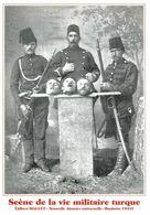 MACEDOINE - 1902-1903 - GENDARMES TURCS POSANT DEVANT DES TÊTES COUPEES DE MACEDONIENS;CP RARE édition Limitée - Software