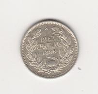 10 CENTAVOS 1896 ARGENT - Chile
