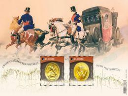 "BELGIUM/Belgien/Belgie EUROPA 2020""Ancient Postal Routes"" Minisheet** - 2020"