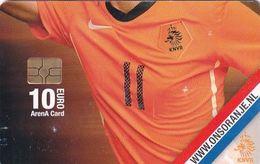 NETHERLANDS - Www.onsoranje.com, Amsterdam Arena Card 10 Euro, Used - Sport