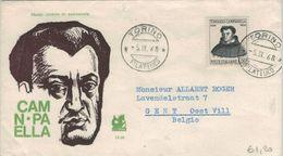 Tommaso Campanella War Ein Italienischer Philosoph, Dominikaner, Neulateinischer Dichter Und Politiker - Torino 1968 - Theologen